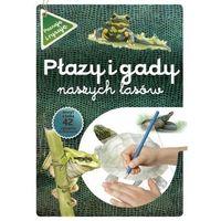 Książki dla dzieci, Płazy i gady naszych lasów wyd. 2021 (opr. miękka)