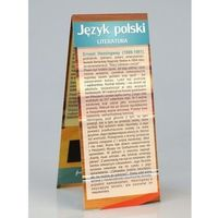 Pozostałe artykuły szkolne, Magnetyczna zakładka Język Polski literatura