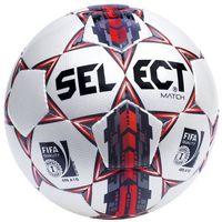 Piłka nożna, Piłka nożna Select Top Match 5 FIFA biało-czerwona