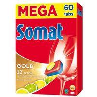 Kostki do zmywarek, Tabletki SOMAT do zmywarek Gold Lemon 60 szt + Zamów z DOSTAWĄ W PONIEDZIAŁEK!