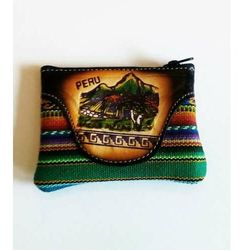 Portfelik peruwiański kolorowy