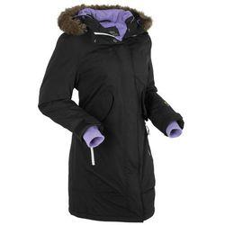 Płaszcz funkcyjny outdoorowy bonprix czarny