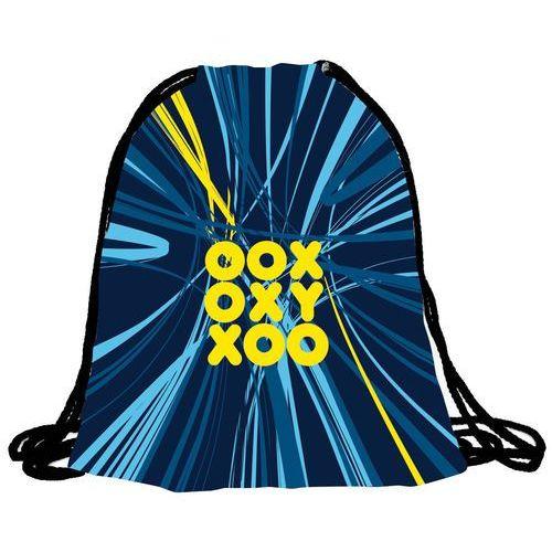 Pozostałe artykuły szkolne, Karton P+P Worek na kapcie OXY niebieski