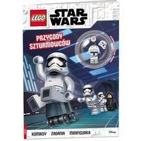 Książki dla dzieci, LEGO(R) Star Wars. Przygody szturmowców (opr. broszurowa)