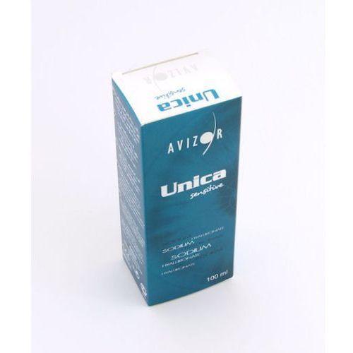 Płyny pielęgnacyjne do soczewek, Avizor Unica Sensitive 100 ml