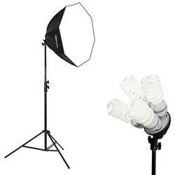 Lampa światła stałego SOFTBOX octa 80cm 4x 85W 300cm