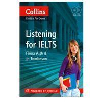 Pamiętniki, dzienniki, listy, IELTS Listening : IELTS 5-6+ (B1+) (opr. miękka)