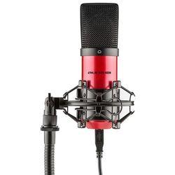 Auna Pro MIC-900-RD USB Mikrofon pojemnościowyczerwony Charakterystyka kardioidalna studyjny