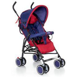Wózek spacerówka Moolino Compact C granatowo-czerwony