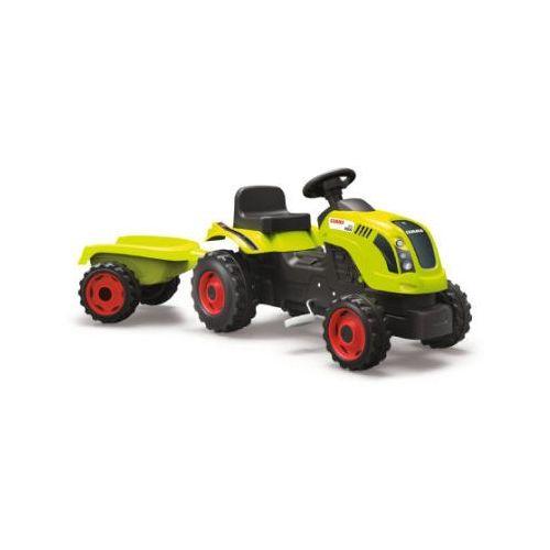Traktory dla dzieci, SMOBY Traktor Farmer XL CLAAS ARION 400 z przyczepą
