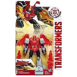 TRANSFORMERS ROBOTS IN DISGUISE WARRIORS AUTOBOT TWINFERNO