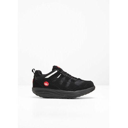 Męskie obuwie sportowe, Sneakersy Lico na podeszwie platformie bonprix czarny
