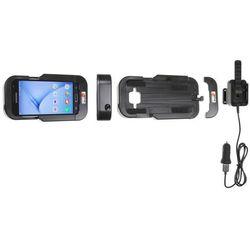Brodit wzmocniona wytrzymała obudowa aktywna w wersji z kablem USB i ładowarką samochodową do Samsung Galaxy J3 z systemem adaptacyjnym Active MultiMoveClip