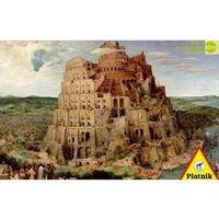 Puzzle, Puzzle 1000 - Brueghel. Wieża Babel PIATNIK