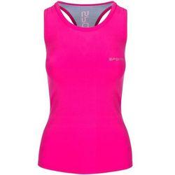 Top fitness SPOKEY Modo-839512 (rozmiar M) Różowo-niebieski