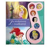 Książki dla dzieci, Disney Księżniczka. Za siedmioma nutkami - Praca zbiorowa (opr. twarda)