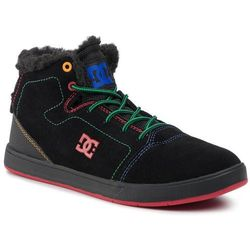 Sneakersy DC - Crisis High Wnt ADBS100215 Black/Red/Yellow(Xkry)