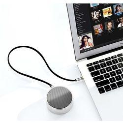 Ugreen płaski kabel przewód audio AUX 3,5 mm mini jack 3m srebrny (10728) - 3