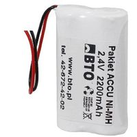 Akumulatorki, Akumulator NiMH AA 2.4V 2.2Ah 2S1P