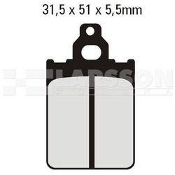 Klocki hamulcowe EBC (2 szt.) SFA186 4101839 Piaggio/Vespa SKR 125, Italjet Formula 50