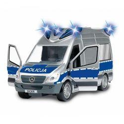 Dickie Samochód Policyjny SOS Radiowóz Światło Dźwięk
