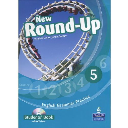 Książki do nauki języka, New round up 5 Student`s Book+Cd (opr. miękka)