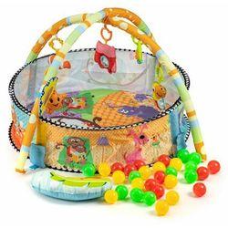 Mata edukacyjna dla dziecka, kojec, basen, 30 piłeczek