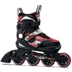 Rolki Fila Skates J-ONE blk/red F19