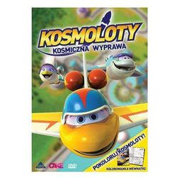 Kosmoloty Kosmiczna wyprawa + Kolorowanka - Cass Film