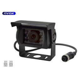 Samochodowa kamera cofania 4PIN CCD SHARP w metalowej obudowie 12V 24V