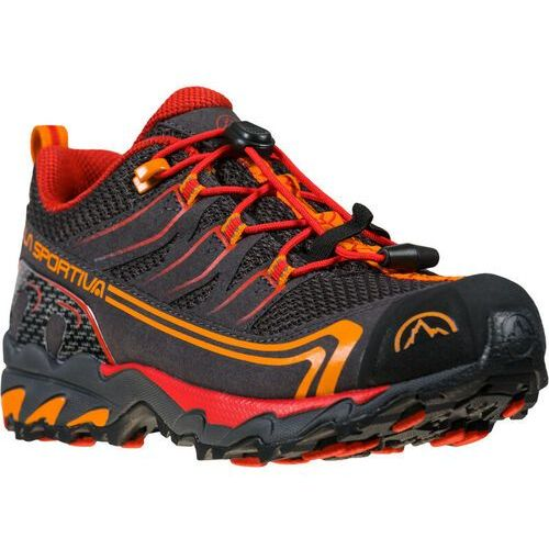 Trekking, La Sportiva Falkon Low GTX Shoes Youth, carbon/cherry EU 40 2021 Buty turystyczne