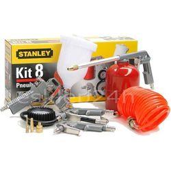Akcesoria pneumatyczne Stanley klucz 8 części