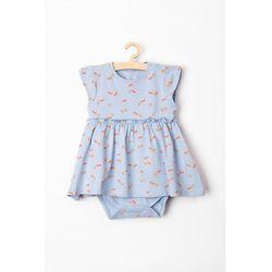 Body niemowlęce niebieskie 6T3803