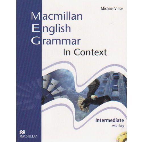 Książki do nauki języka, Macmillan English Grammar in Context, Intermediate, Student's Book and CD-ROM with Key (opr. miękka)