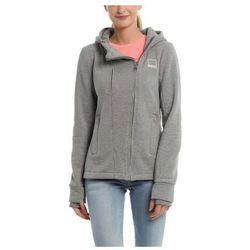 koszulka BENCH - Her. Double Zip Hoody Winter Grey Marl (MA1054) rozmiar: XS