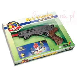 Edison Pistolet na naboje gumowe Bob Lawson 32cm - HITY WiecejZabawek.pl. Szybka wysyłka - 100% Zadowolenia. Sprawdź już dziś!
