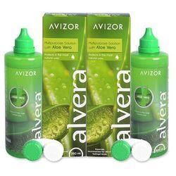 Płyn do soczewek Alvera Solution 2 x 350 ml
