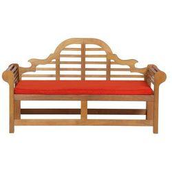 Poduszka jasnoceglasta - poducha - ogrodowa - do ławek Marlboro 180 cm