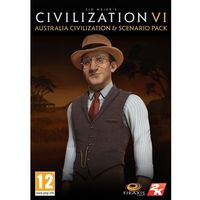 Gry na PC, Civilization 6 Australia Civilization & Scenario Pack (PC)