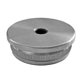 Zaślepka nierdzewna z gwintem AISI304, D48,3/M8mm