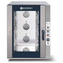 Piec konwekcyjno-parowy HENDI NANO 12xGN1/1 - sterowanie elektroniczne