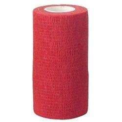 Samoprzylepne bandaże elastyczne EquiLastic szer. 10 cm Kerbl - czerwony