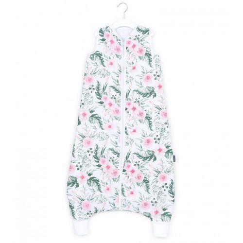 Śpiworki dla niemowląt, Śpiworek muślinowy z nogawkami Różany Ogród