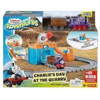 Pojazdy bajkowe dla dzieci, Tomek i Przyjaciele Karol w kamieniołomach