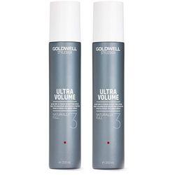 Goldwell StyleSign Naturally Full   Zestaw: spray zwiększający objętość 2x200ml