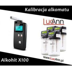 Kalibracja alkomatu Alkohit X100 + Świadectwo kalibracji