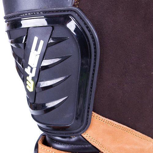 Buty motocyklowe, Skórzane buty motocyklowe enduro W-TEC MX-1, Brown, 43