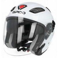 Kaski motocyklowe, KASK MOTOCYKLOWY ISPIDO AVIATOR SV - BLENDA - Biały!