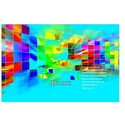 Blok techniczny A5 superiol kolorowy 25 kartek KRESKA