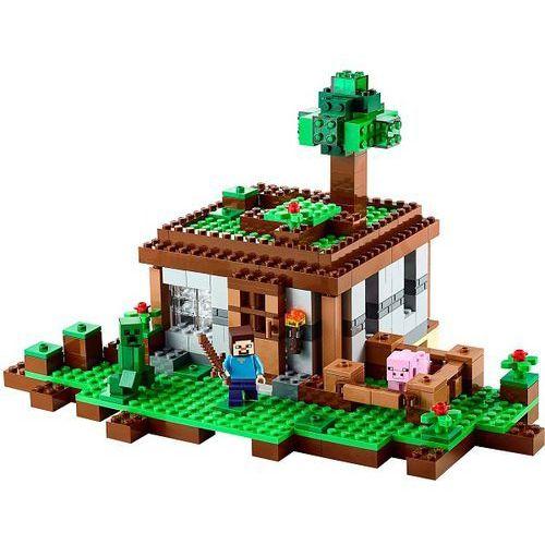 Klocki dla dzieci, Lego MINECRAFT Pierwsza pomoc 21115
